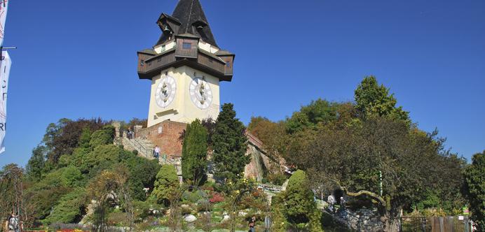 Torre del reloj de Graz