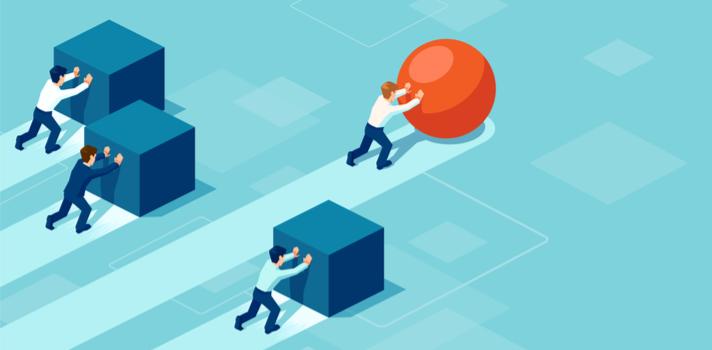 Un emprendedor a la hora de conseguir metas empresariales necesita ayudarse de su equipo, y la tecnología vigente