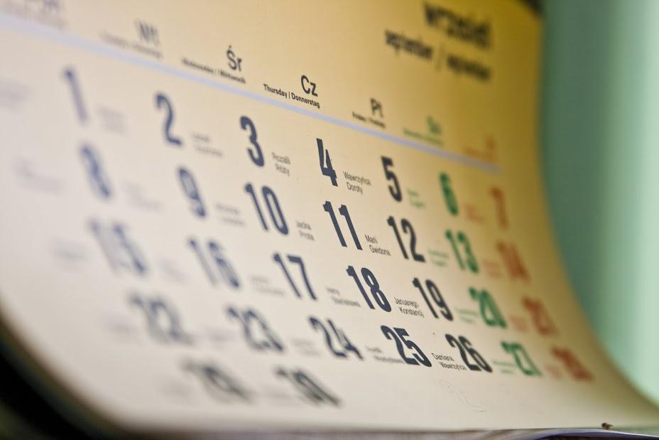 Planificar o tempo vai te ajudar a tirar o maior proveito dele