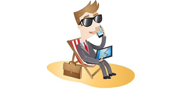 Como conciliar as férias de verão e o trabalho