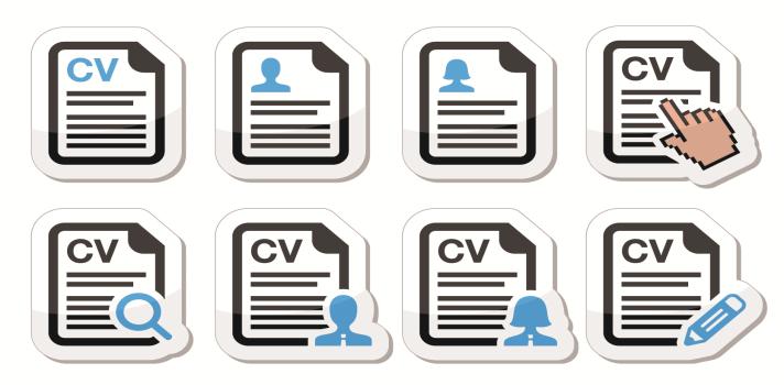 Trabaja en tu CV para que sea un documento original y profesional