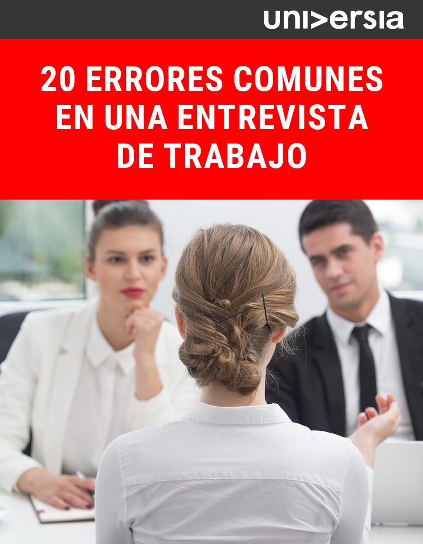 Ebook_20 errores comunes en una entrevista de trabajo
