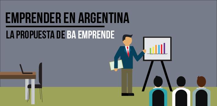 <p>El <strong>plan de apoyo a los emprendedores</strong>, implementado por la Dirección General Emprendedores de la Subsecretaría de Economía Creativa del Gobierno de la Ciudad, tiene 4 ejes de trabajo: <strong>capital humano</strong>, comunidad, financiamiento e innovación social.</p><blockquote style=text-align: center;>Visitá el especial sobre<a title=Lee nuestra serie «Emprender en Argentina» href=https://noticias.universia.com.ar/tag/serie-emprender-en-argentina/ target=_blank>Emprender en Argentina</a>y comenzá a desarrollar tus ideas</blockquote><p>Dentro de Capital Humano se destaca la labor de la<strong> Academia Emprende</strong>, que desde su surgimiento en 2014, <strong>ha capacitado más de 15 mil personas</strong> en sus diferentes versiones.</p><p><strong></strong></p><ul><li><strong>Capital Humano</strong> : <strong>capacitación presencial</strong></li></ul><p>La <strong>modalidad presencial </strong>consta de <strong>4 cursos</strong> (Crecimiento Profesional, Ideación, Puesta en Marcha, Expansión) y cada uno tiene una extensión de 7 encuentros de 3 horas semanales. Los mismos están orientados a que las personas puedan desarrollar habilidades y adquirir <strong>herramientas que le permitirán potenciar sus proyectos y/o emprendimientos</strong>.</p><p></p><ul><li><strong>Capital Humano</strong> : <strong>capacitación a distancia</strong></li></ul><p>Por su parte, la <strong>modalidad a distancia</strong>, capacita a los alumnos a través de videos de 2 a 6 minutos de duración y foros de discusión. Las temáticas abordadas son: el capital social; liderazgo y valores; equipos; dimensión de la persona; introducción a la innovación; explorando tu creatividad; mi emprendimiento; pensamiento del diseño y modelo de negocios.</p><p>Si estás interesado en anotarte a uno de los cursos, ingresá a su <a title=Academia BA Emprende href=buenosaires.gob.ar/AcademiaEmprende target=_blank>sitio web oficial</a>.</p><p></p><ul><li><strong>Comunidad emprendedora</strong></