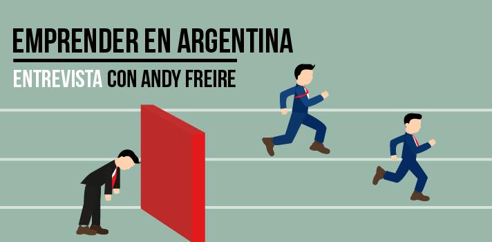 """<p><strong>Andy Freire</strong>, además de ser un <strong>emprendedor, </strong>es Licenciado en Economía por la Universidad de San Andrés, columnista y escritor. En una entrevista con <a href=https://www.universia.com.ar/ title=Universia Argentina - Toda la actulidad de la comunidad universitaria en Argentina target=_blank>Universia Argentina</a>nos dió su opinión acerca de diversos temas, como la <a href=https://noticias.universia.com.ar/consejos-profesionales/noticia/2015/08/24/1130193/emprender-argentina-conoce-cual-situacion-pais-region.html title=Emprender en Argentina: Conocé cuál es la situación del país y la región>situación actual del emprendedurismo</a>en el país, la cualidades necesarias para emprender y la reacción al fracaso.</p><div class=help-message><h4>¿Eres el próximo Mark Zuckerberger?</h4><a href=https://test.universia.net/emprendedor?utm_campaign=TestEmprendedor&utm_source=Argentina&utm_medium=word class=enlaces_med_registro_universia button01 id=TEST_CAPTACION>Descubrilo con este test gratuito</a></div><ul><li><strong>¿Cuál es la situación actual del emprendedurismo?</strong></li></ul><p>Tal vez tu estés pensando en emprender un negocio, pero antes te gustaría <strong>saber si las condiciones son favorables</strong>. Al respecto, Andy nos comentó que """"es innegable que durante los últimos 15 años el país avanzó muchísimo respecto a la consolidación de un ecosistema emprendedor relativamente fuerte"""".A su parecer, la extensión de este interés es la consecuencia de dos asuntos. Por un lado, ocurrió un """"<strong>cambio de mentalidad respecto a la educación y objetivos de las personas</strong>"""". La generación de los millennials """"fue educada para dedicar tiempo a lo que los haga felices"""" y """"ese tipo de mentalidad favorece a la iniciativa emprendedora"""". Asimismo, los más jóvenes tienen""""ambición por perseguir sus sueños de una manera mucho más intensa que generaciones anteriores"""" y en este contexto """"ser empleado muchas veces no es la mejor opción, sino """