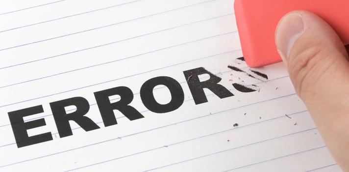 Los 5 errores más comunes al emprender