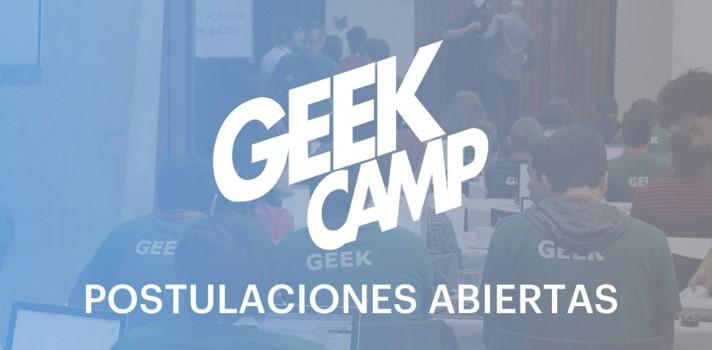 Postulaciones abiertas para participar del Geek Camp 2016