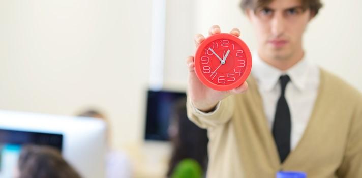 ¿Llegas siempre tarde? Culpa a tu cerebro