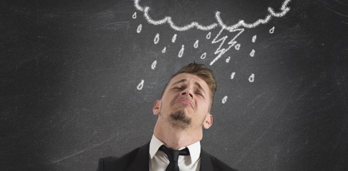 Evita las quejas y la actitudes negativas