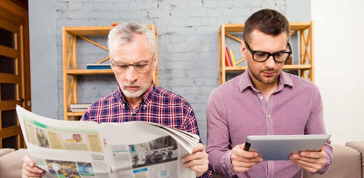 A nova geração: em que é que os Millennials se diferenciam dos seus avós