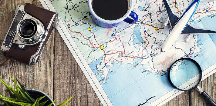Una alimentación saludable y ejercicio físico te ayudarán a evitar los efectos de viajar mucho