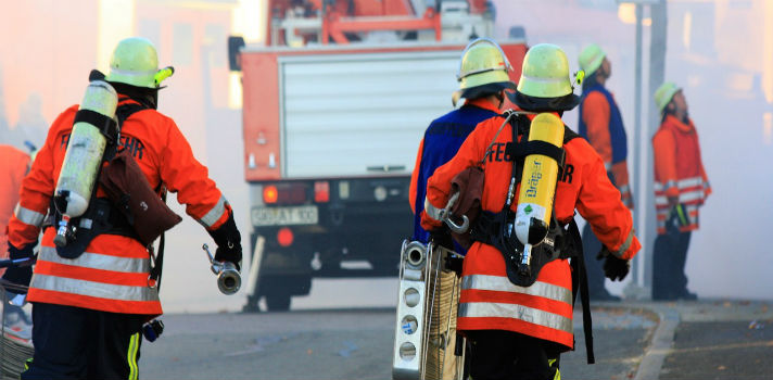 Os bombeiros são profissões onde o stress é grande, o que se explica facilmente por ser um trabalho com alto risco
