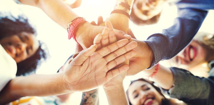 Partilhar em benefício do grupo são ideias fundamentais para que tudo encaixe no trabalho de equipa