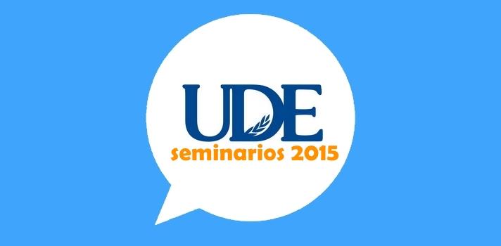 Participá de los seminarios que ofrece la UDE