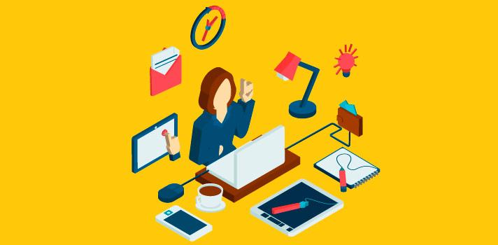 Si te organizas y escribes para varias páginas web, podrás sacar rédito económico