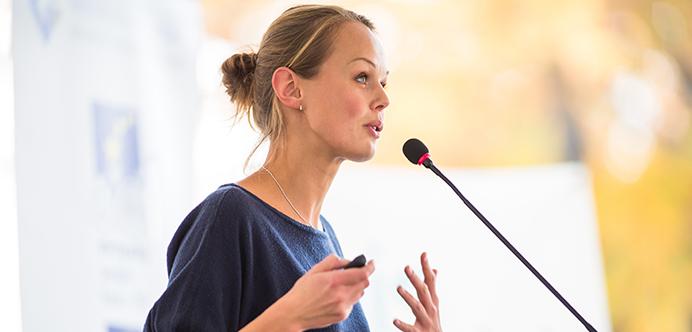 """Quando fazemos uma apresentação ou palestra, as pessoas irão nos julgar de acordo com seus """"filtros"""" culturais e pessoais."""