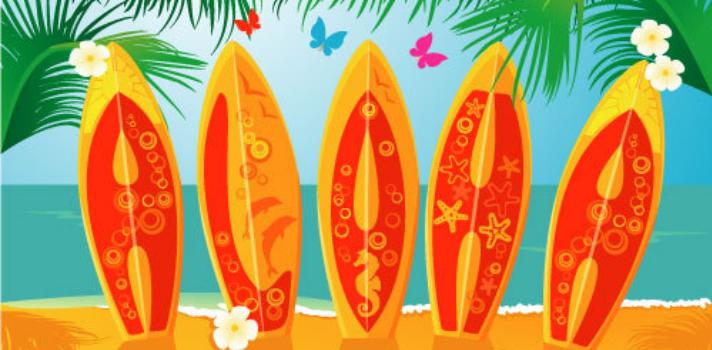 Graduación: cómo planear una fiesta hawaiana.
