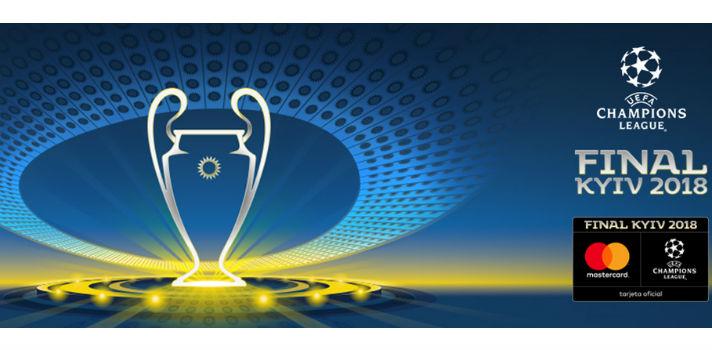Asiste a la final de la UEFA Champions League el 28 de mayo en Kiev