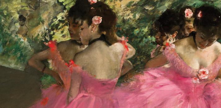 Arte do Dia: Dançarinas de Rosa de Edgar Degas