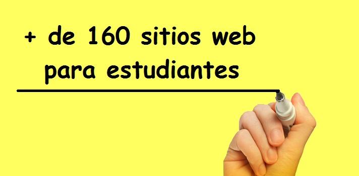 Más de 160 sitios web educativos para estudiantes
