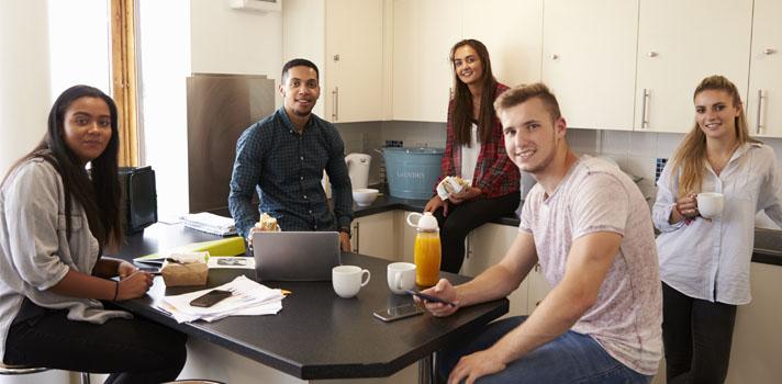 Las residencias son más económicas y rentables para jóvenes en etapa universitaria