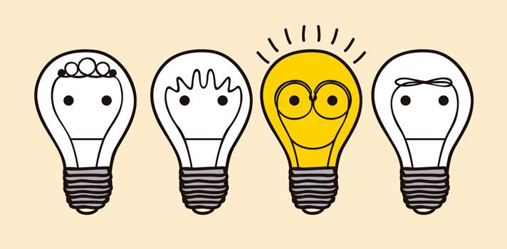 Pensando de forma creativa es posible crear objetos que otras personas no podrían siquiera imaginar