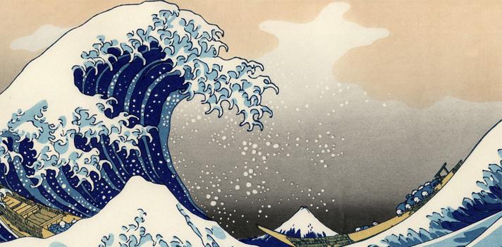 Arte do Dia: A Onda de Katsushika Hokusai