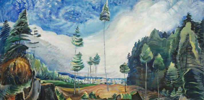 Arte do Dia: Abate dos Madeireiros de Emily Carr