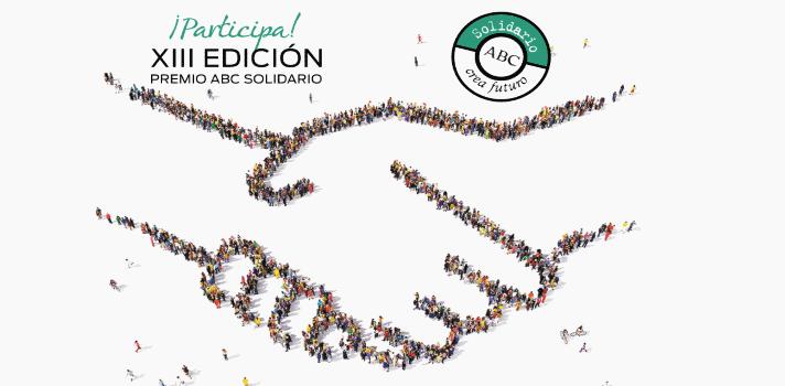 Participa en la XIII edición del premio ABC Solidario.