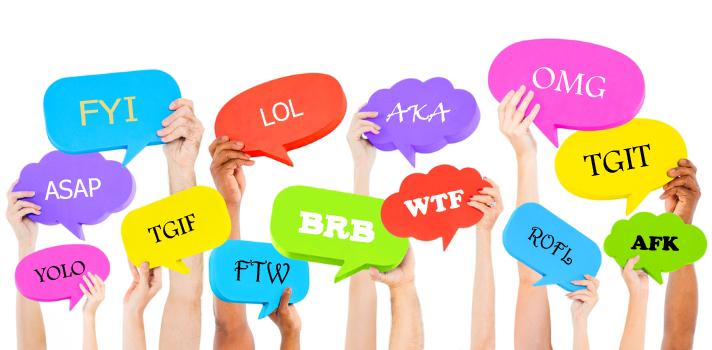 Las abreviaturas son una forma de comunicación muy eficiente, pensada para espacios reducidos.