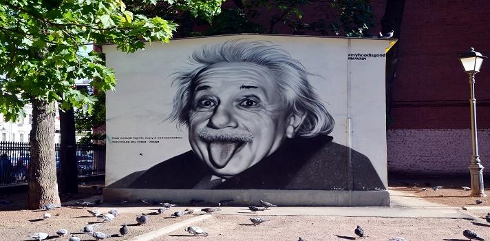Albert Einstein nació hace 138 años en Alemania