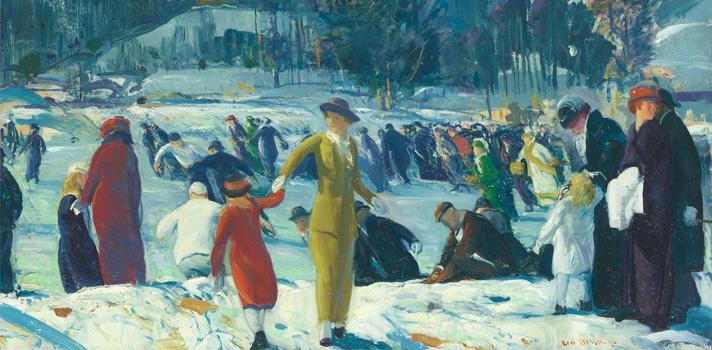 Arte do Dia: Amor de Inverno de George Bellows