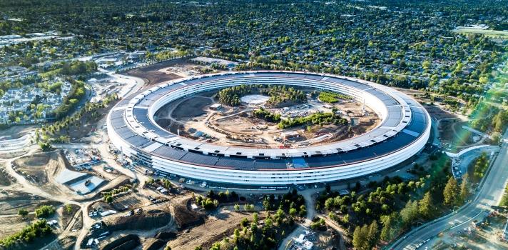 El Apple Park: el edificio que revolucionó la arquitectura moderna.