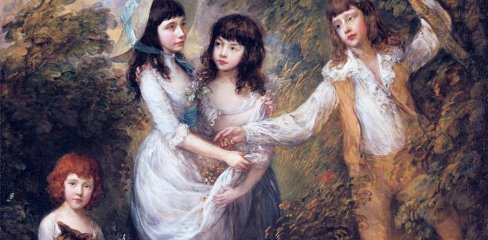 Arte do Dia: As Crianças Marsham de Thomas Gainsborough