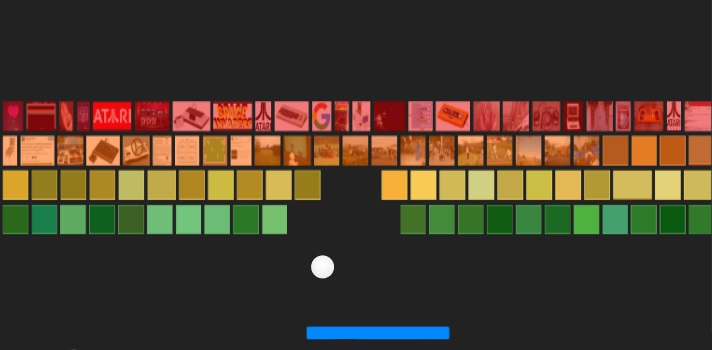 Atari Breakout de Google