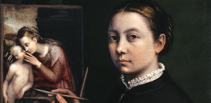 Arte do Dia: Autorretrato de Sofonisba Anguissola