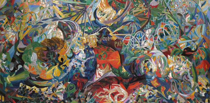 Arte do Dia: Batalha de Luzes de Joseph Stella