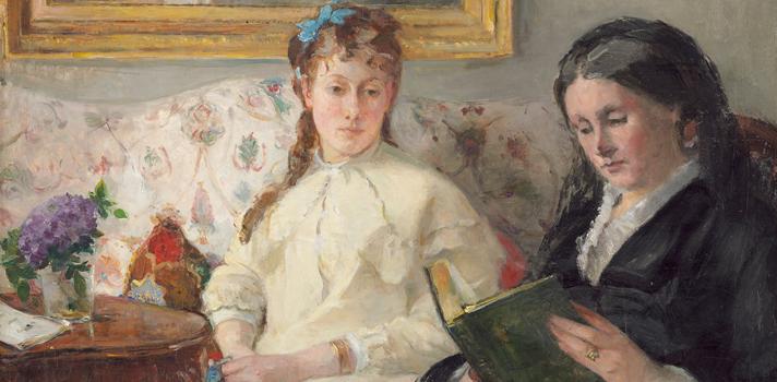 Arte do Dia: Mãe e Irmã da Artista de Berthe Morisot