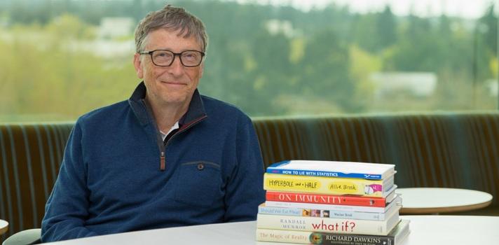 Bill Gates también cuenta con un blog donde realiza contenidos para estudiantes y profesionales