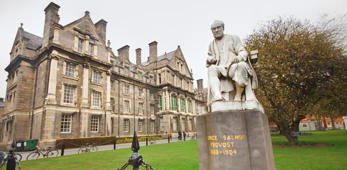 Trinity College tem bolsas de mestrado exclusivas para brasileiros