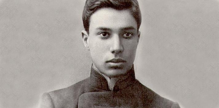 Borís Pasternak en 1908
