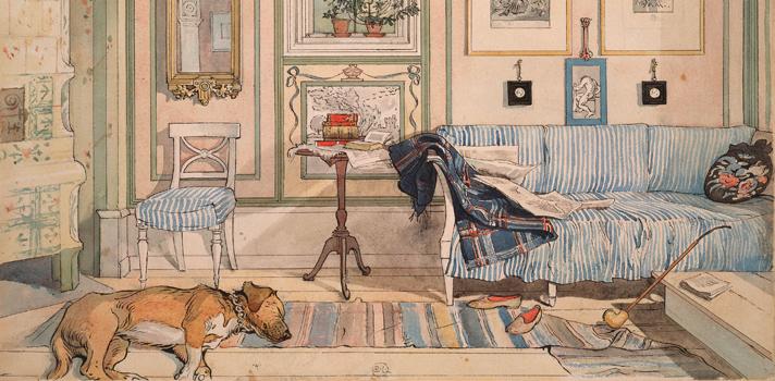 Arte do Dia: Canto Aconchegante de Carl Larsson