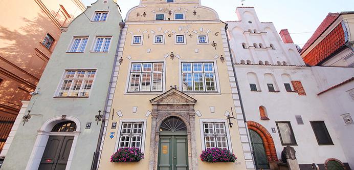 Casa de los tres hermanos, Riga