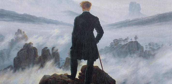 Arte do Dia: Caminhante Sobre o Mar de Névoa de Caspar David Friedrich