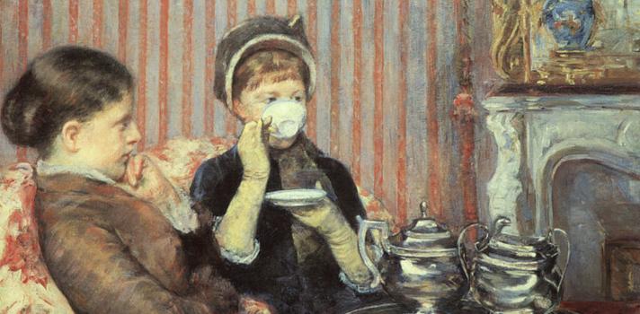 Arte do Dia: Chá das Cinco de Mary Cassatt