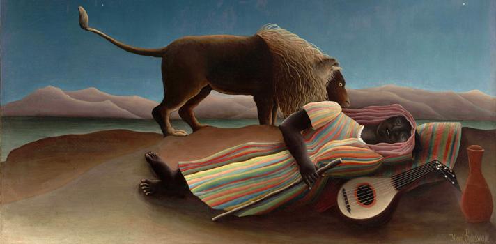 Arte do Dia: A Cigana Adormecida de Henri Rousseau