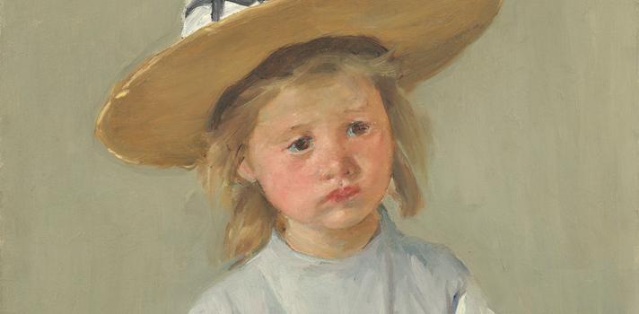 Arte do Dia: Criança com Chapéu de Palha de Mary Cassatt