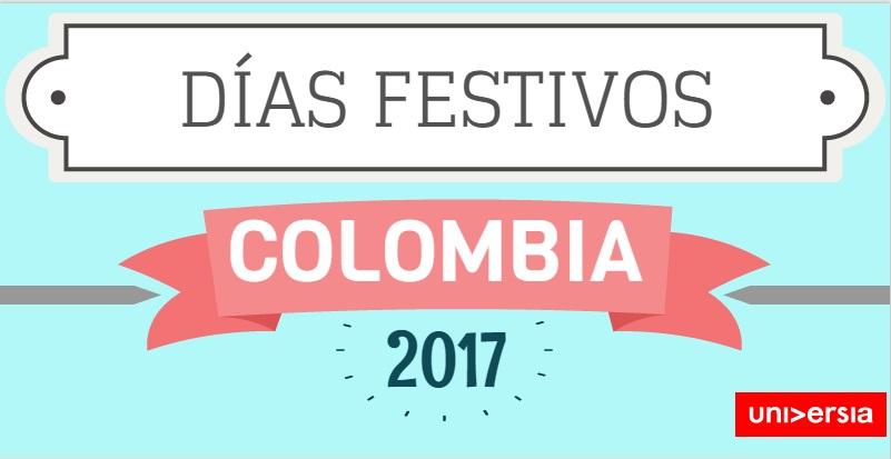Estos son los días festivos que tendrá Colombia en 2017.