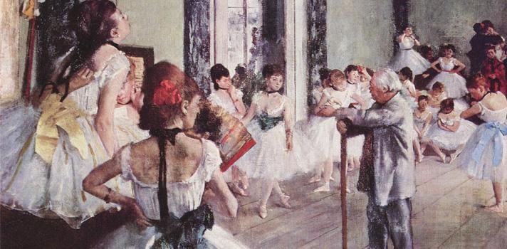 Arte do Dia: A Aula de Dança de Edgar Degas
