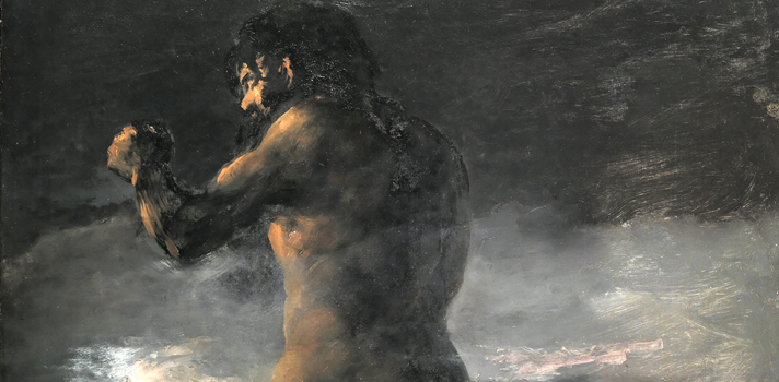 Arte do Dia: El Coloso de Francisco de Goya