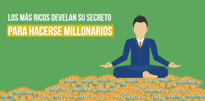 Un libro revela el secreto de los más ricos para ser millonarios